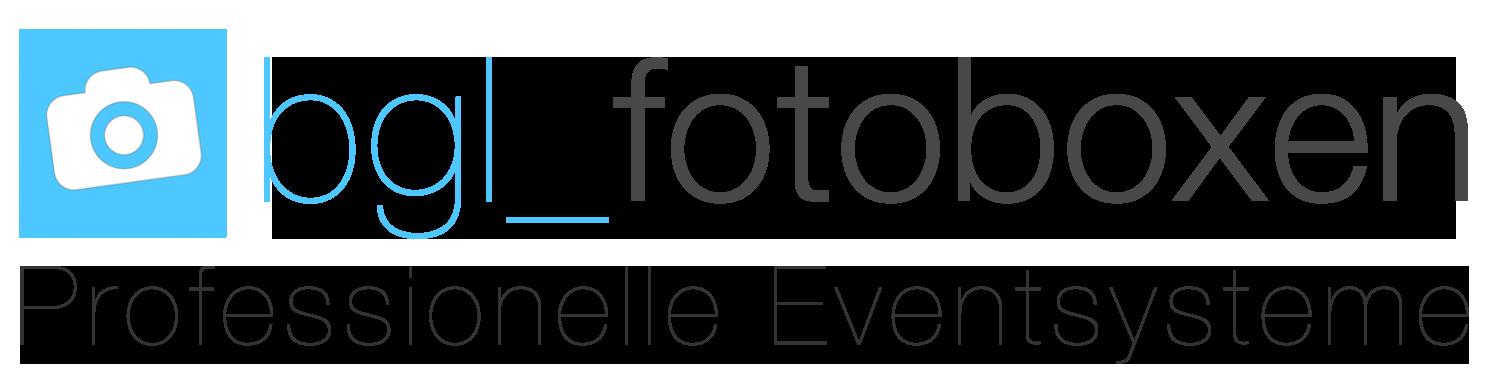 Fotobox mieten deutschlandweit - Entdecken Sie unsere BGL Fotoboxen